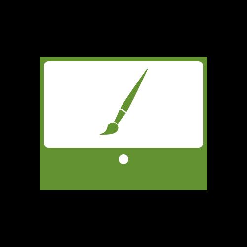 Leistung Webdesign Gestaltung Icon für Internetauftritt bei boerde-design