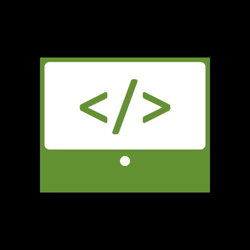 Leistung Programmierung WordPress Icon für Internetauftritt bei boerde-design