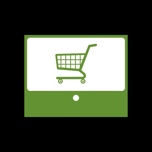 Leistung Shop-Systeme Online-Shop Die-Shopmaker Icon für Internetauftritt bei boerde-design