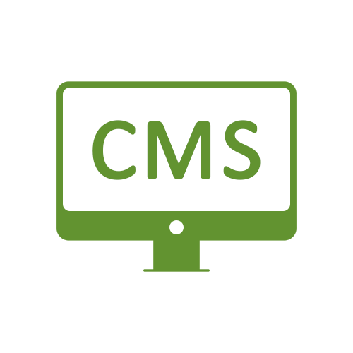 Leistung Content-Management-Systeme CMS WordPress Icon für Internetauftritt bei boerde-design