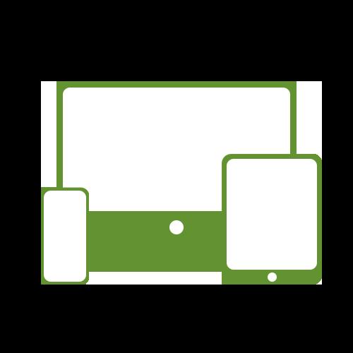 Leistung responsives Design Tablet Handy Desktop Icon für Internetauftritt bei boerde-design