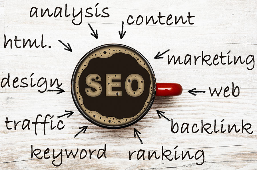 SEO Suchmaschinenotimierung Keywords Design Content Ranking Analyse Links mit boerde-design