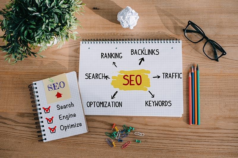 SEO Suchmaschinenotimierung Keywords Design Content Suche Ranking Optimierung mit boerde-design